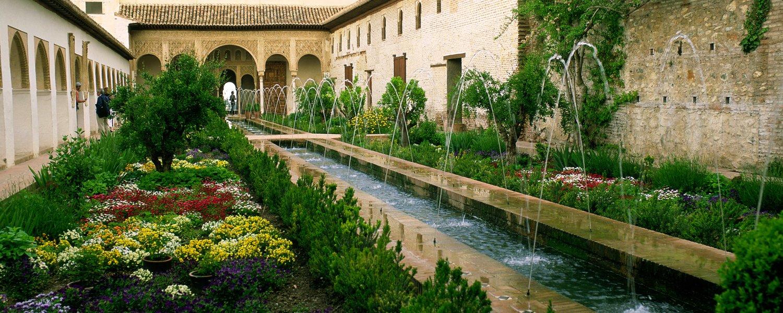 La alhambra patronato de turismo de granada for Jardines de gomerez granada