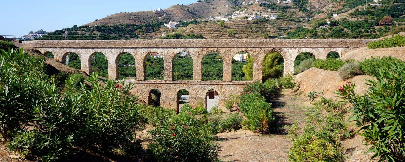 Baños Romanos Granada: hacer » Conocer su arte y cultura » Monumentos » Acueducto Romano