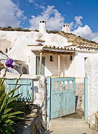 dormir en casas cueva Granada