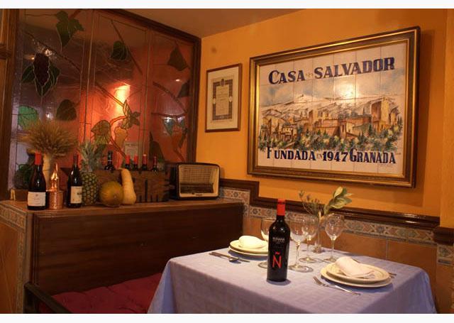 Restaurante casa salvador granada patronato de turismo - Casa palacete 1822 ...