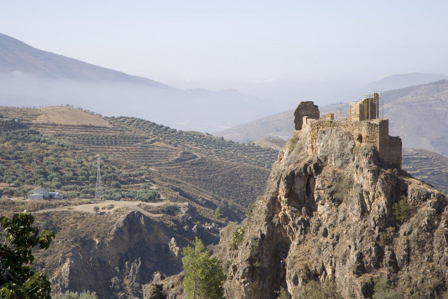 _U4T9087 Castillo. Lanjarón. Granada.
