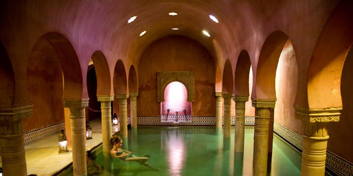 Balnearios y baños árabes