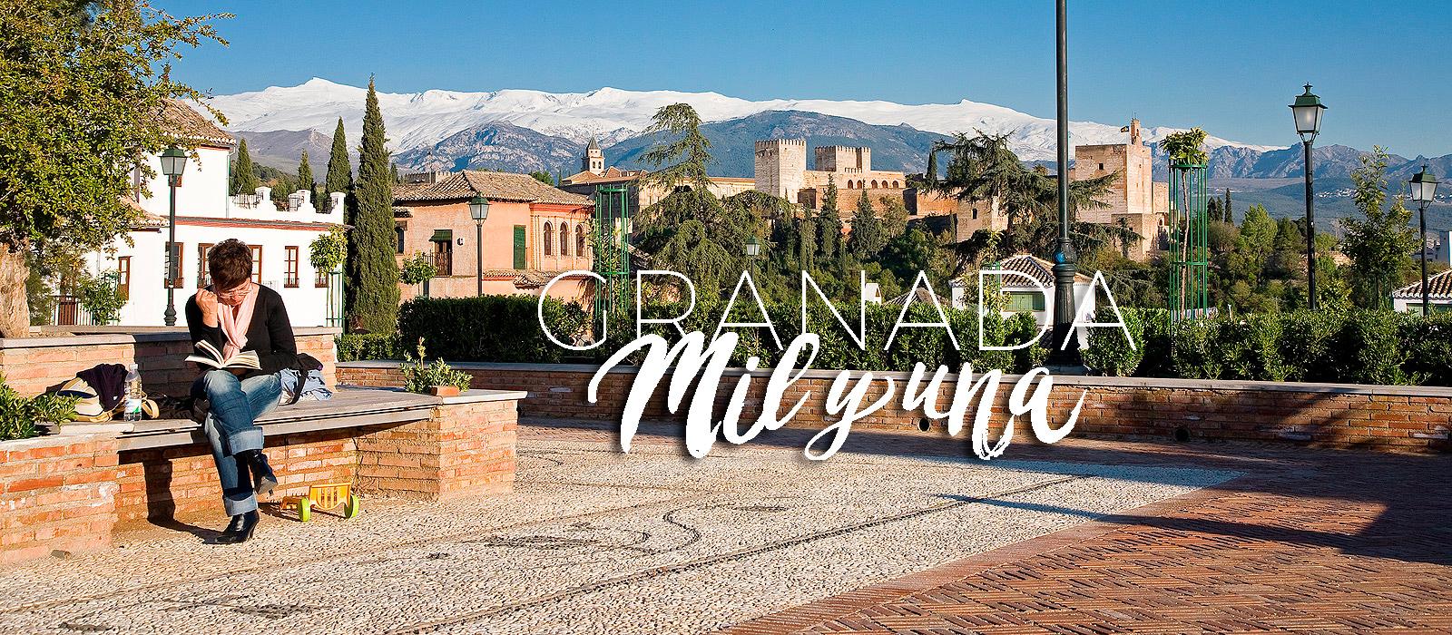 Miradores del Albaicín de Granada - Mirador de Santa Isabel la Real